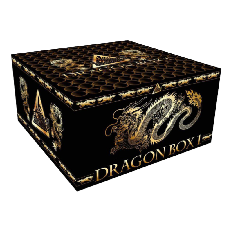 ART. 14905 DRAGON BOX 1, 100 SHOTS EVO SPECIALS COMPOUND