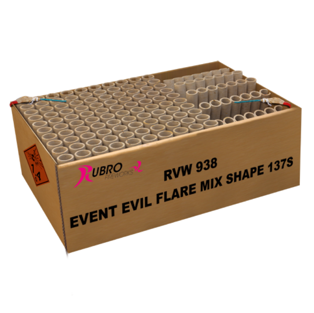 ART. 938 EVENT EVIL FLARE MIX SHAPE, 137 SHOTS