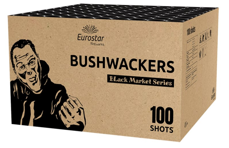 ART. 1016 BUSHWACKERS, 100 SHOTS COMPOUND NIEUW!