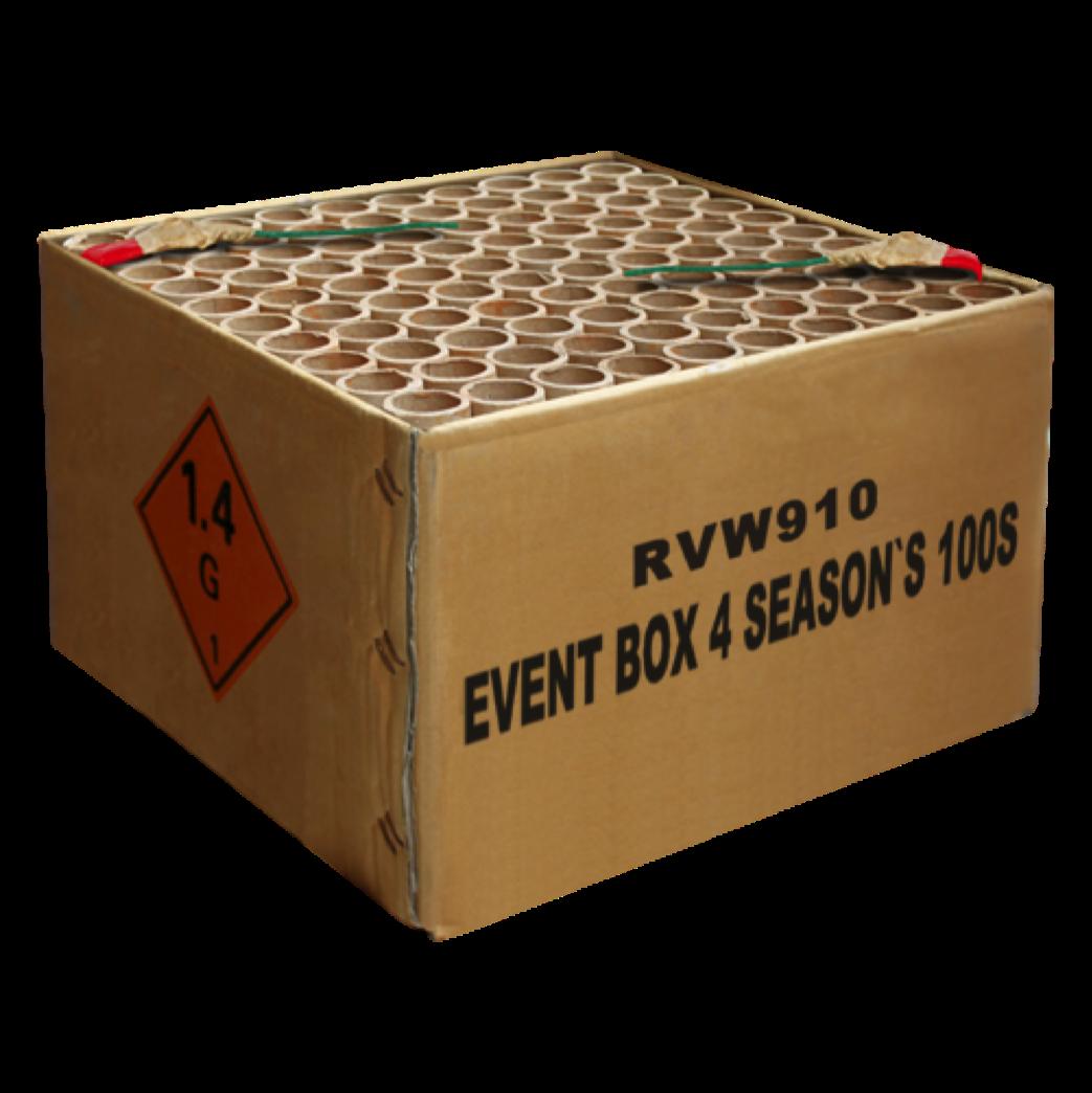 ART. 910 EVENT BOX 4 SEASONS, 100 SHOTS
