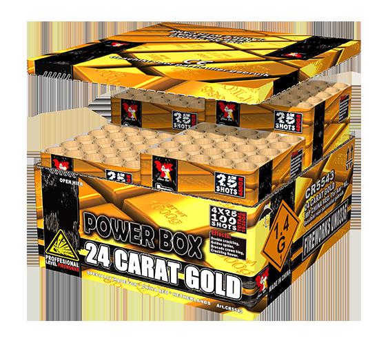 24 Carat Gold (4 in een box)