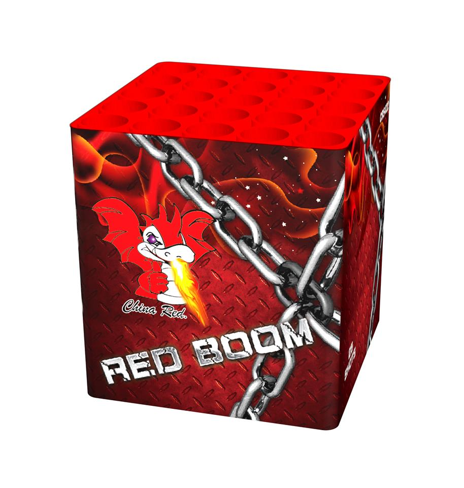 Red Boom (25 shots salute)