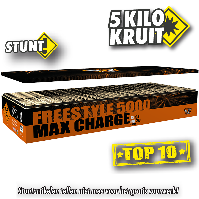 Freestyle 5000 Max Charge Box