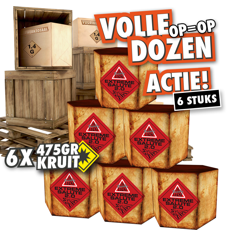 BL Extreme Salute 2.0 volle doos
