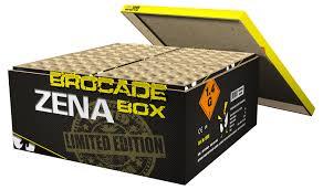 Zena brocade crown box