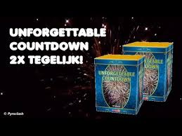Unforgettable Countdown 1+1 gratis