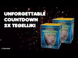 Unforgettable Countdown 1+1 gratis