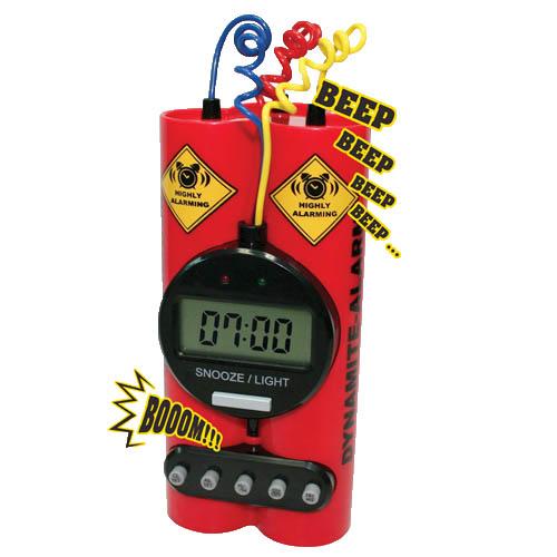 dynamite alarm klok (wekker)