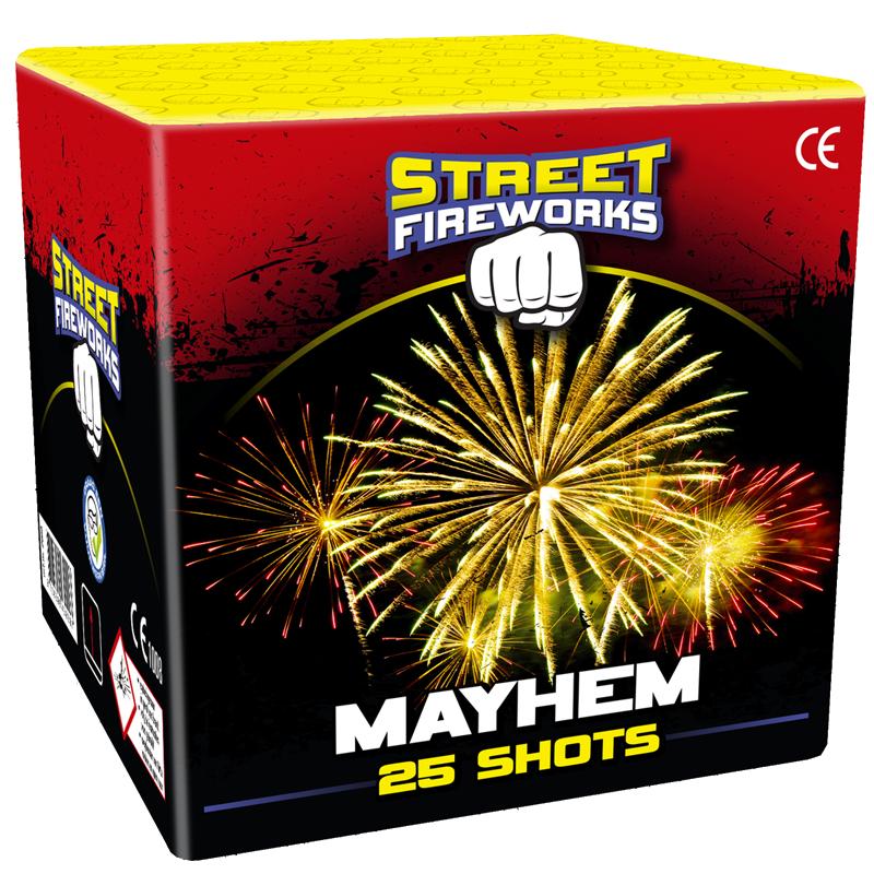 Mayhem street firewors