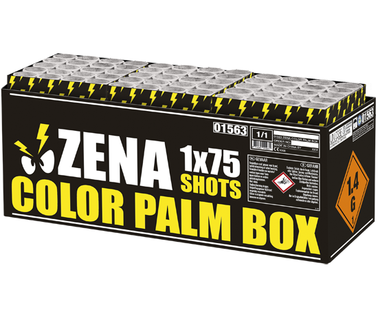 Zena color palm box