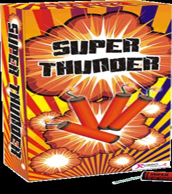 KANONSLAG Super Thunder - 100 stuks