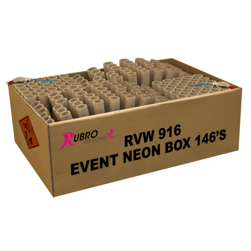 EVENT NEON BOX 146 shots
