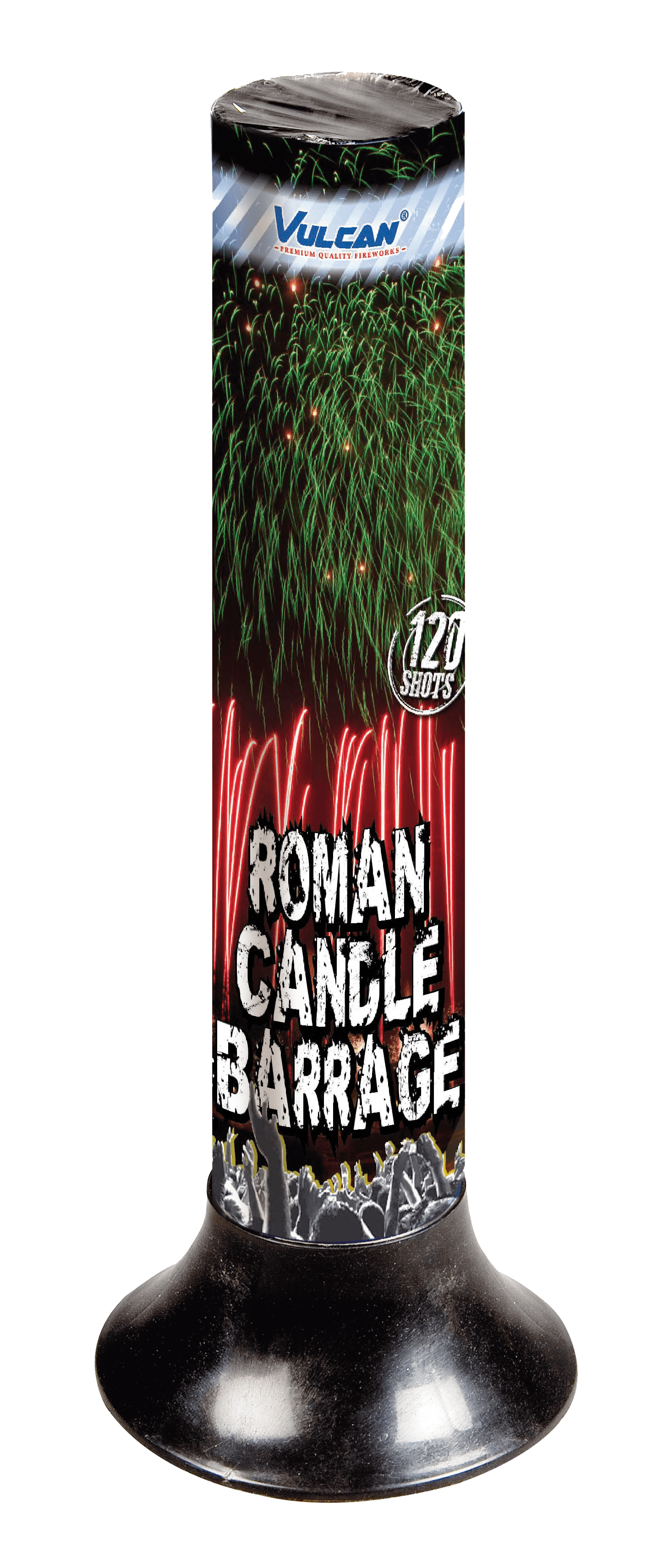 Candle Barrage 120 shots