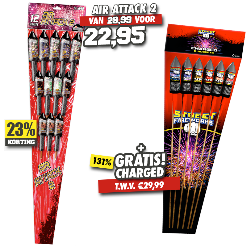 Air Attack 2 + Charged