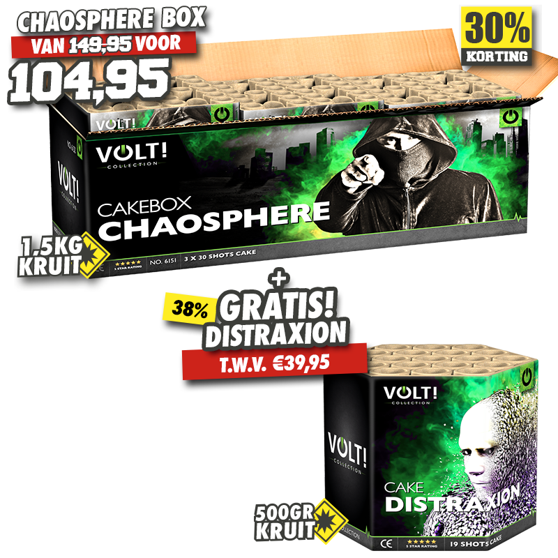 Chaosphere Box + Distraxion