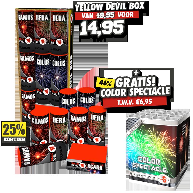 Yellow Devil Box