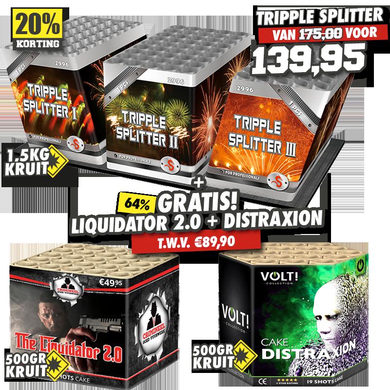 Tripple Splitter (Trio Power)