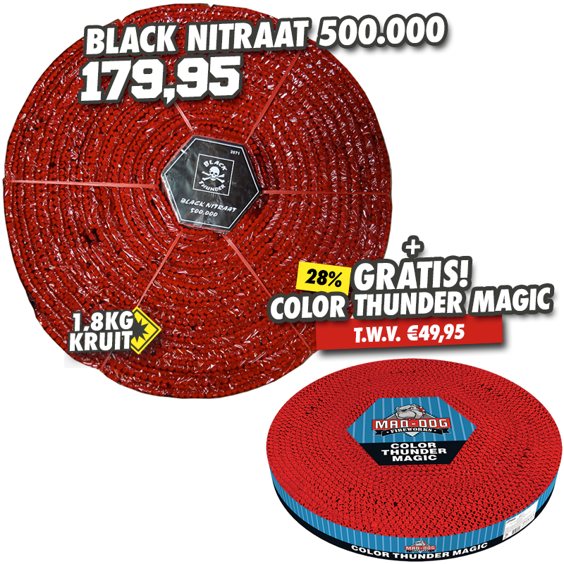 Black Nitraat 500.000