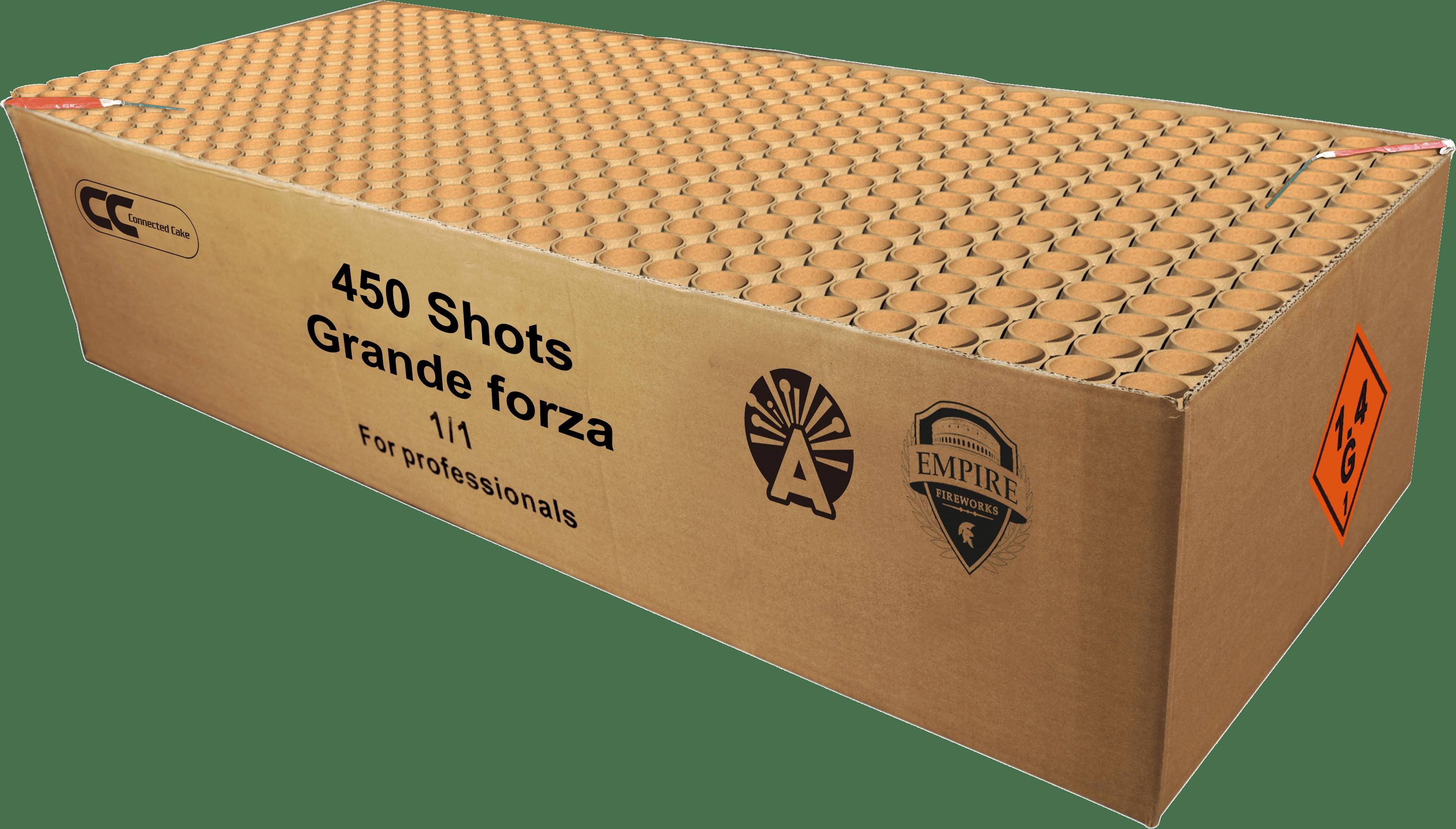 Grande Forza (65 kilo zwaar, 9 kilo kruit)