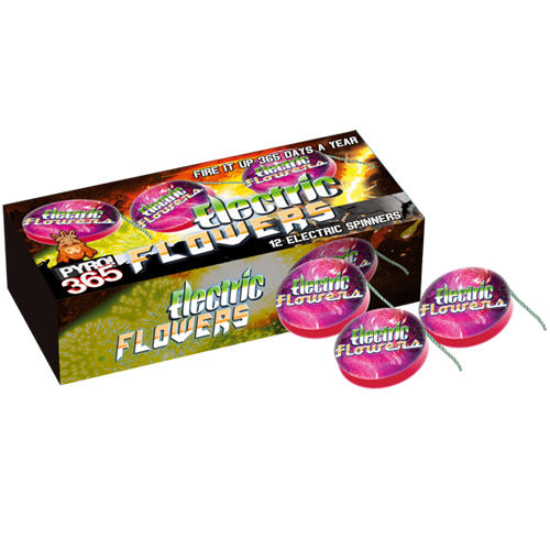 ELECTRIC FLOWERS (12 stuks)