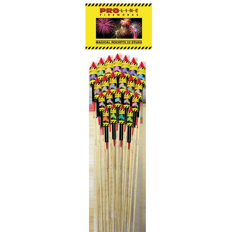 Pro-line Magical Rockets 22 stuks