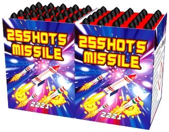 Missile 25schots 1+1 gratis