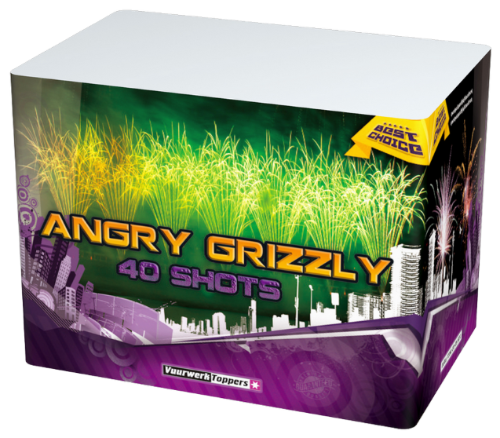 Angry grizzle