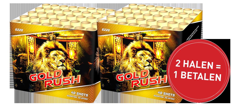Gold rush 2 HALEN = 1 BETALEN!