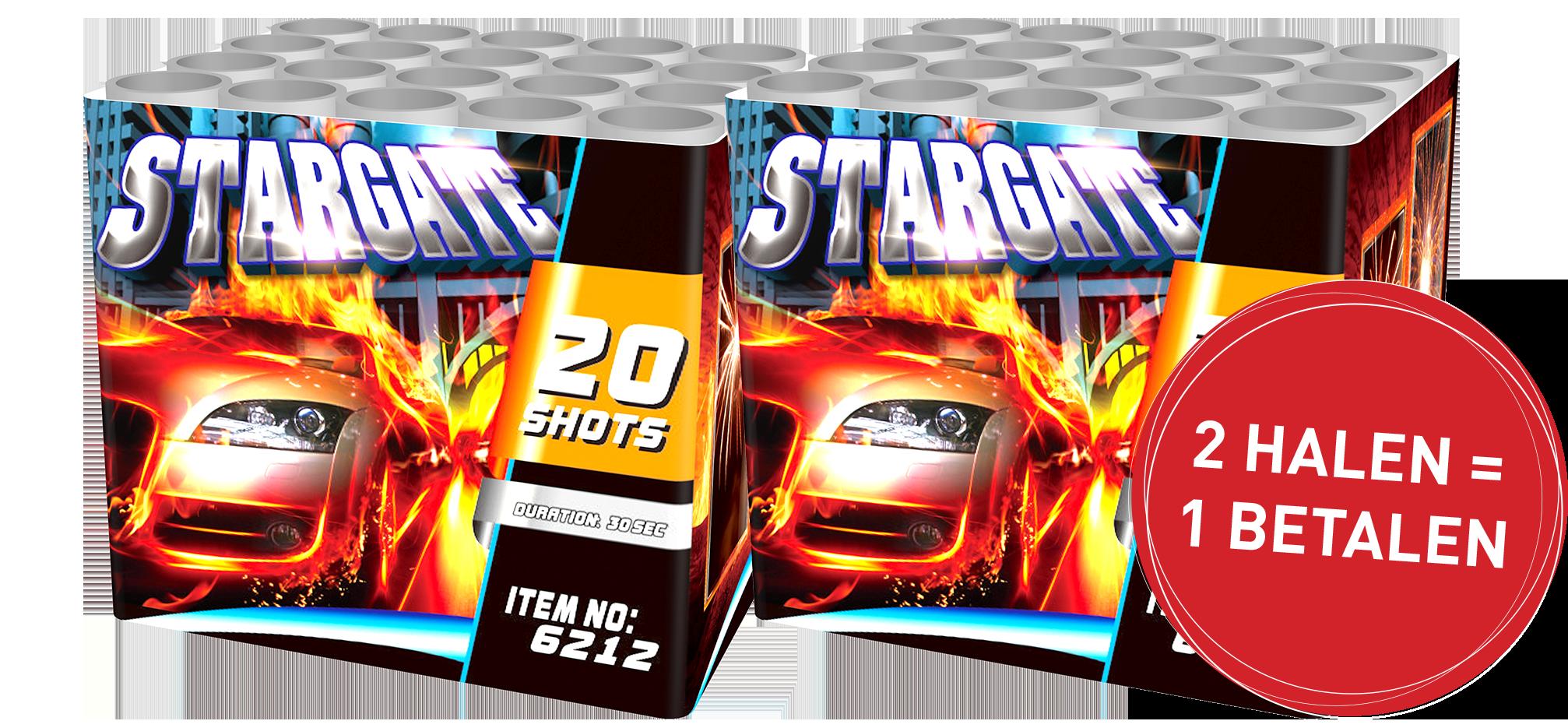 Stargate 2 halen = 1 betalen!