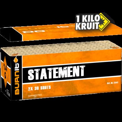 Burn It Statement