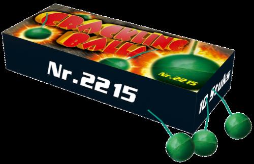 Crakling balls