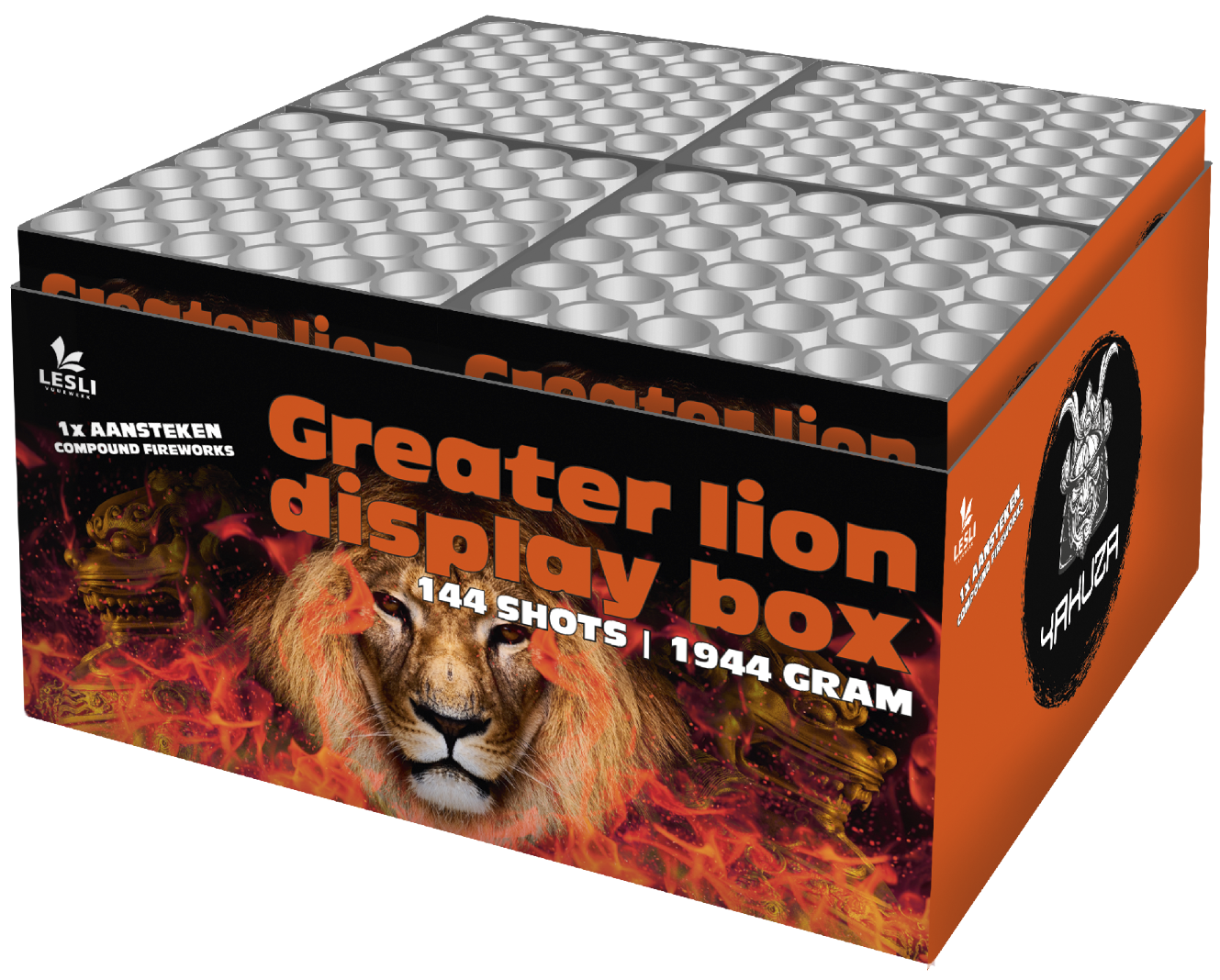 Greater Lion display box (Compound)
