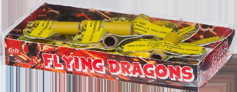 Flying Dragons/Bijtjes (12 stuks) *