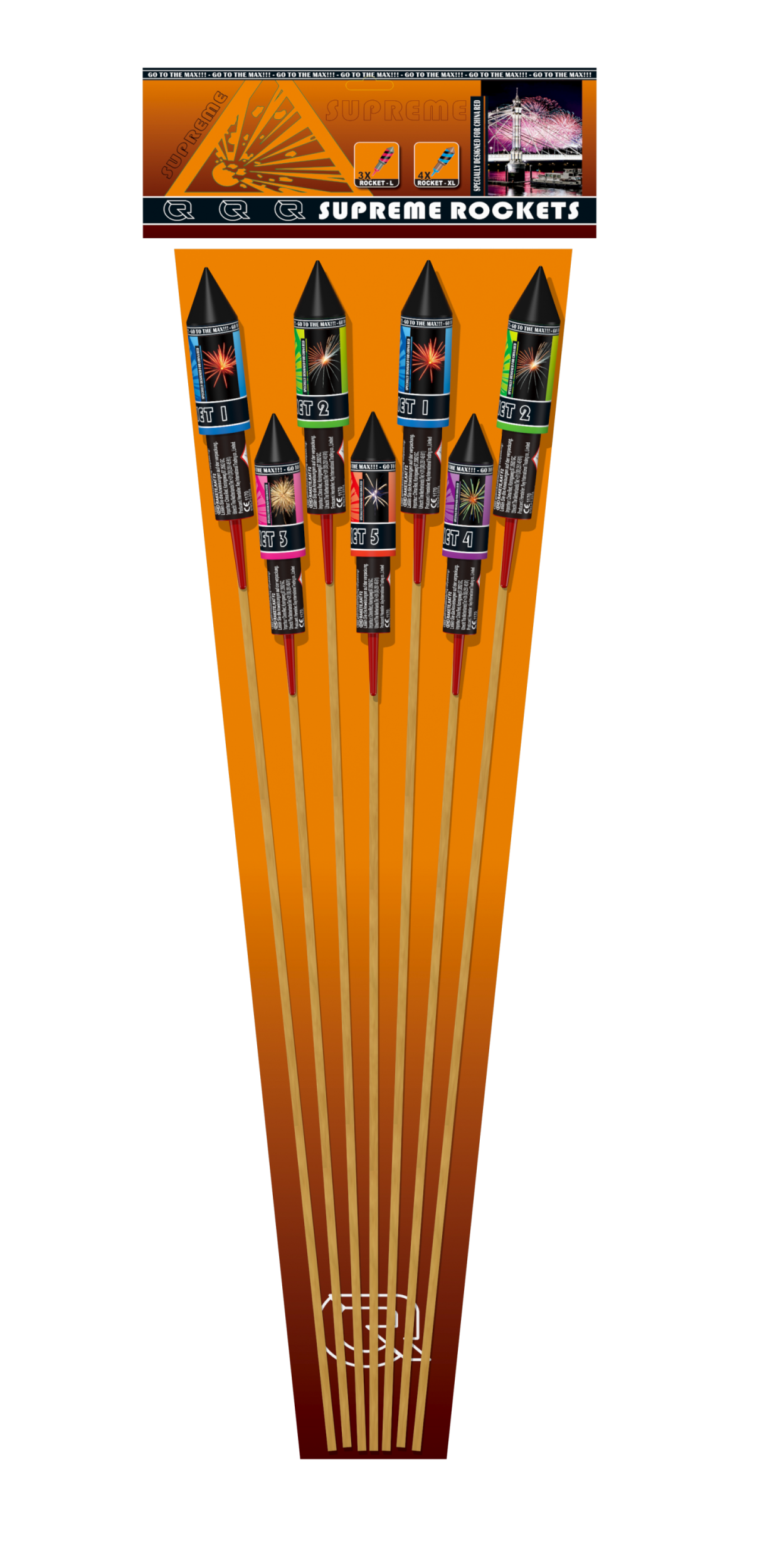 Supreme Rockets (8 pijlen)