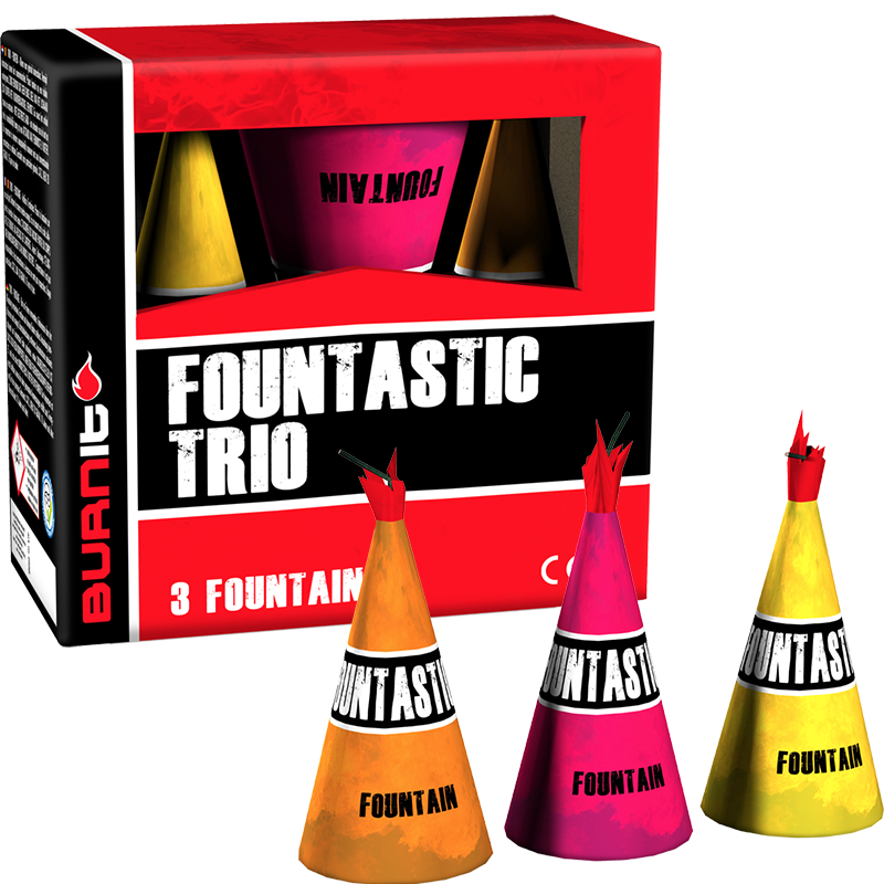 Fountastic Trio