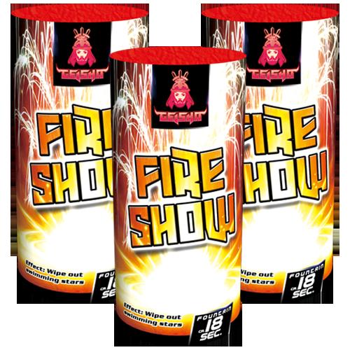 Fireshow pack 3 stuks