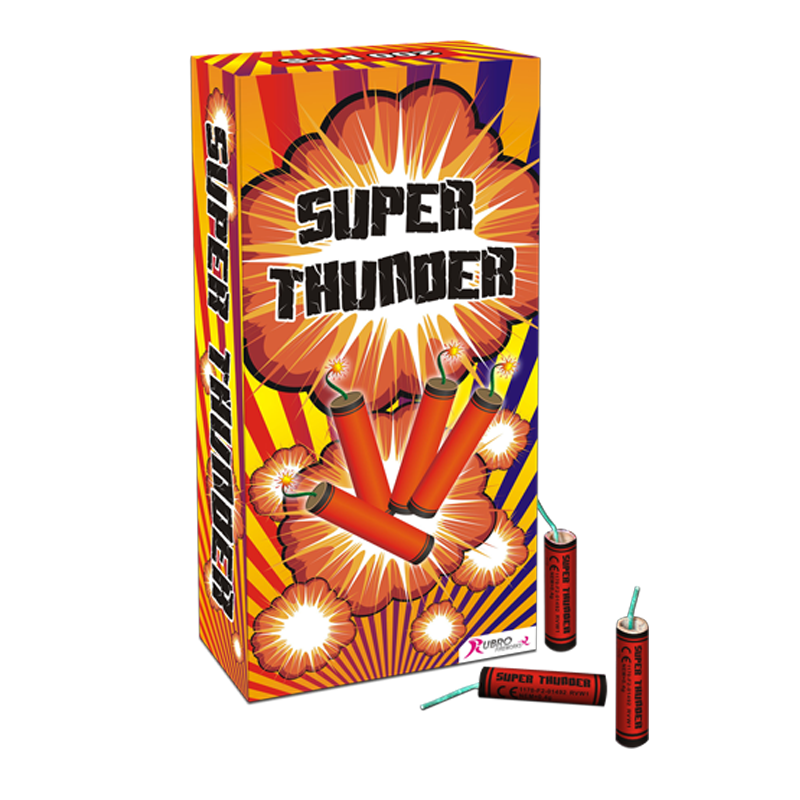 200X SUPER THUNDER KANONSLAG - ACTIE