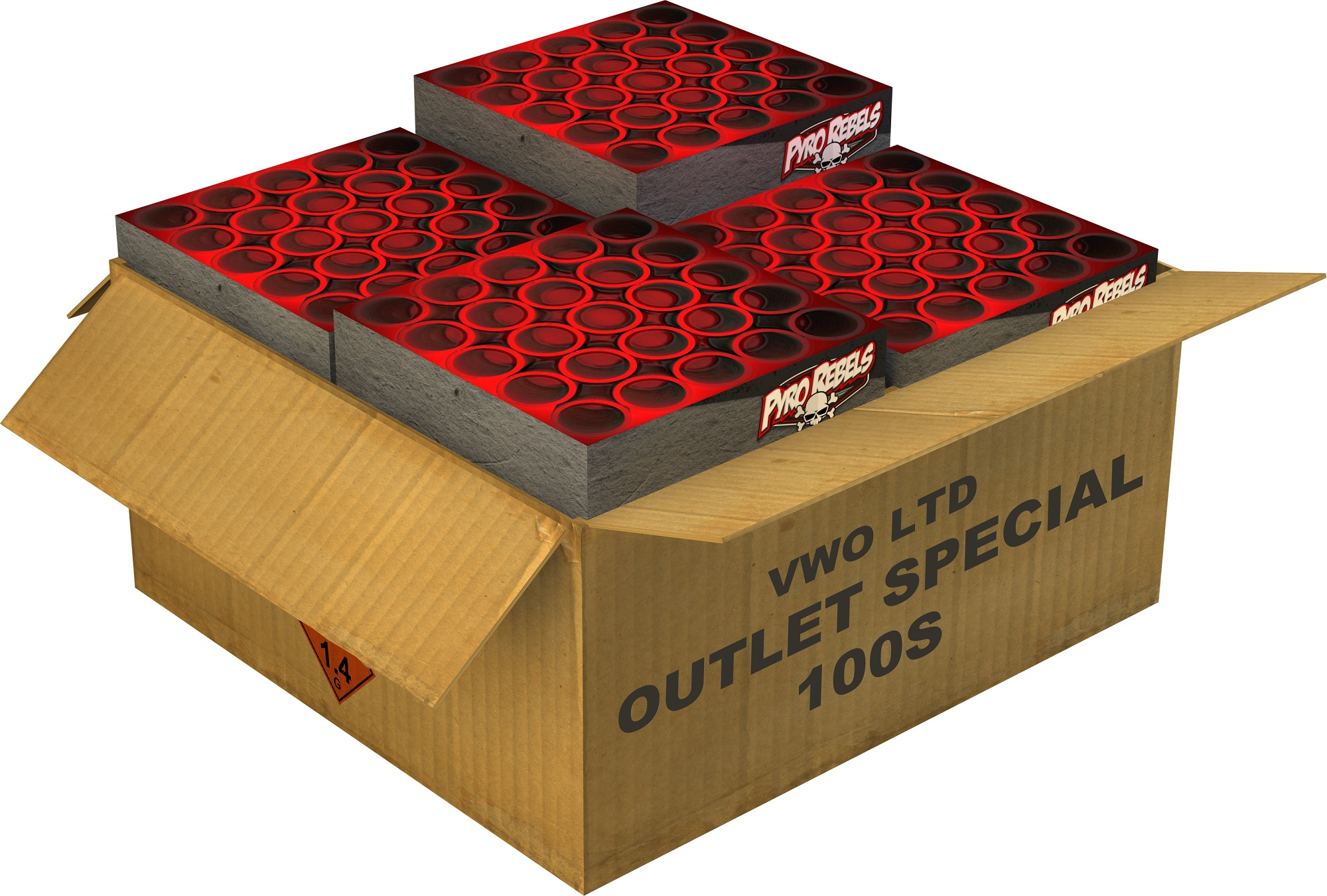 Outlet Special 100's Cakebox LTD