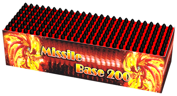 Missile Battery 200 China Red**