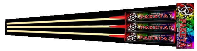 Paketa 3 super pijlen