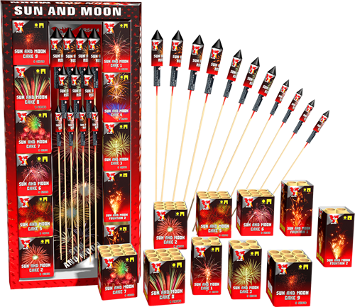 Sun and Moon siervuurwerk Pakket