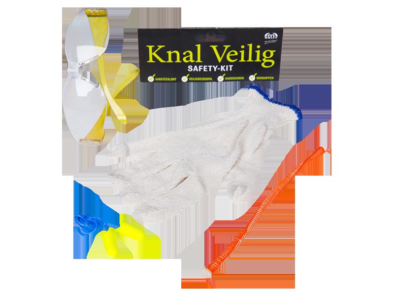 Veilig vuurwerk Safety kit