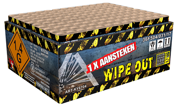 Wipe Out doorverbonden **
