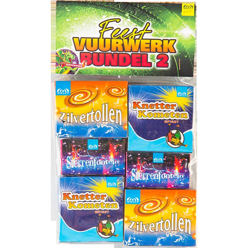 FEEST VUURWERK BUNDEL 2 - op=op!