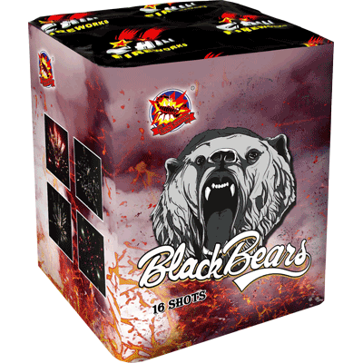 BLACK BEARS 1 + 1 Gratis!
