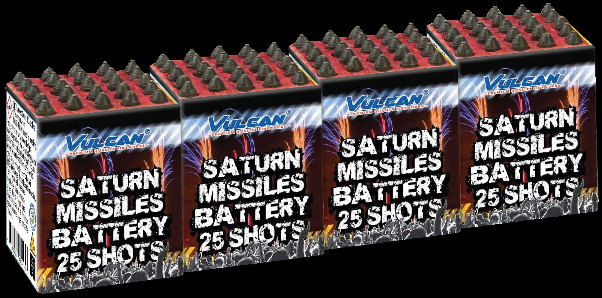 saturn missile 4-pack