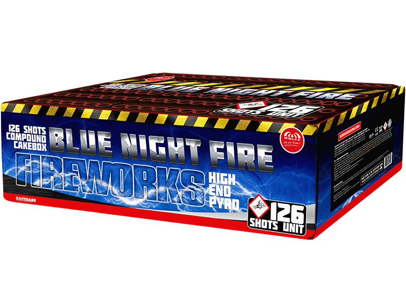 Blue Night Fire