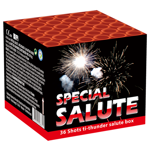 VALK SPECIAL SALUTE 36 SCHOTS ( NIEUW )