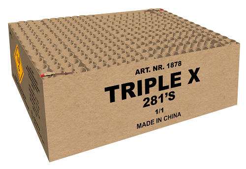 TRIPLE X   LIMITED EDITION 281 SCHOTS