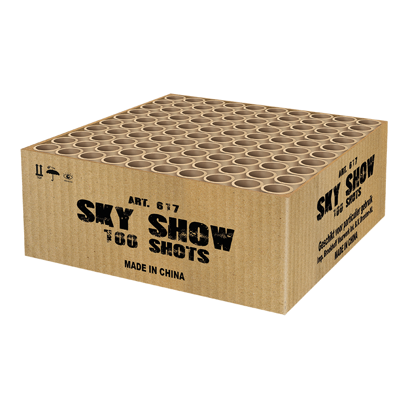 SKY SHOW BOX 100 SCHOTS